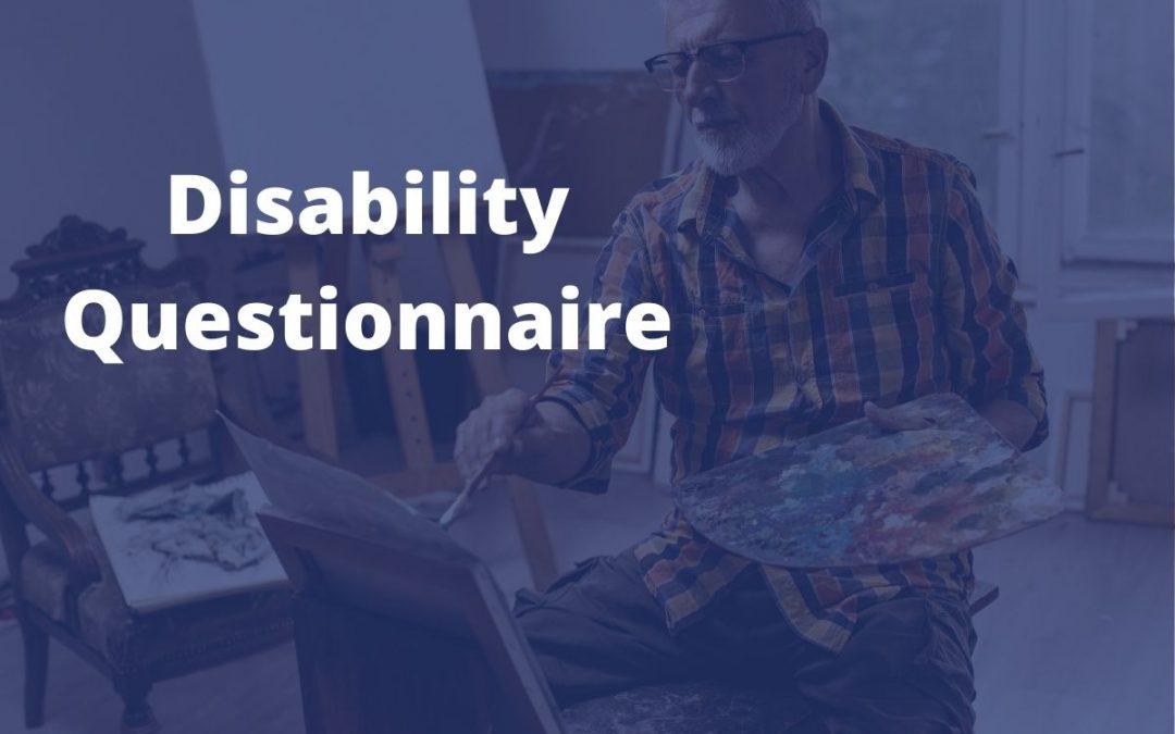 Disability Questionnaire