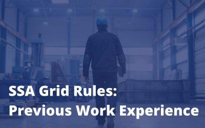 "SSA Grid Rules: Understanding Specific Vocational Preparation (""SVP"")"