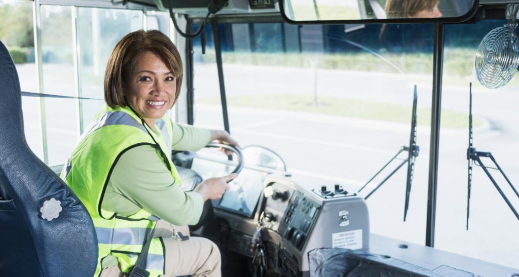 sedentary work bus driver